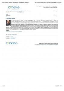 Article CFNews - octobre 2013 - Corus se lance-page